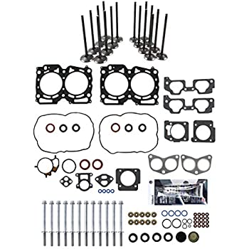SCITOO Head Gasket Bolts Set Replacement for Chevrolet Metro Geo Metro 89-00 Head Gaskets Kit Sets