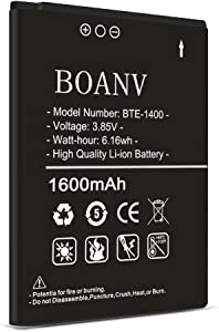 [1600mAh] BTE-1400 Battery,(2021 New Version) Super High Capacity Replacement Battery for Verizon Orbic Journey V RC2200L BTE-1400