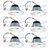 Sylvania Lightify 65W LED Smart Home 2700-6500K Color/White Light Bulb (6 Pack)