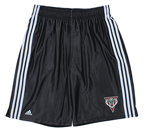 Milwaukee Bucks NBA Big & Tall Mens 3-Stripes Fusion Shorts, Black - Great American Milwaukee Bucks
