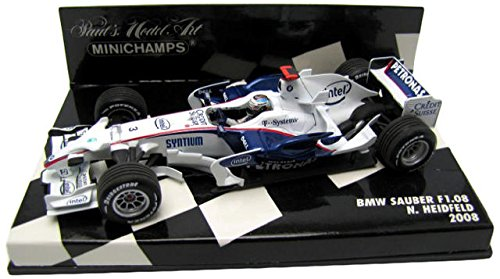 1/43 BMW ザウバー F1.08 N.ハイドフェルド 2008 #3 (ホワイト×ネイビー) 400080003