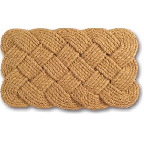 Imports Decor Natural Rope Jute Rug, 18-Inch by 30-Inch - Color Door Mat
