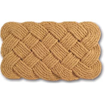 Imports Decor Natural Rope Jute Rug, 18-Inch by 30-Inch