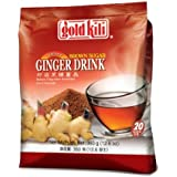 Gold Kili Ginger Drink with Brown Sugar - 40 Sachets Packed in 2 Bags