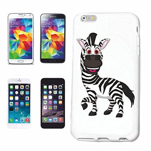 """cas de téléphone iPhone 7S """"RIRE HORSE ZEBRA Grevyzebra MOUNTAIN ZEBRA STEPPE ZEBRA CHEVAL SAUVAGE"""" Hard Case Cover Téléphone Covers Smart Cover pour Apple iPhone en blanc"""
