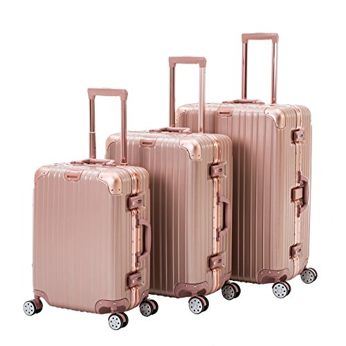 ORKAN AL frame design hard shell luggage Carry On Suitcase 1pc/3 pcs...