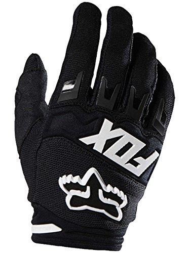 Fox Racing 2016 Dirtpaw Race Youth Boys MX Motorcycle Gloves - Black / 2X-Small
