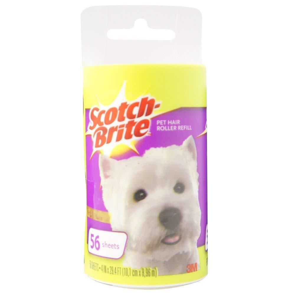 Scotch-Brite Pet Hair Roller Refill 1 ea (Pack of 12) by Scotch-Brite
