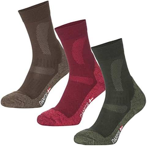 Merino Wool Hiking & Trekking Socks by DANISH ENDURANCE for Men and Women