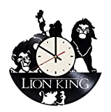 Best Disney Gifts For Boyfriends - Disney Lion King art vinyl wall clock Review