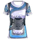AestheticCosplay's Overwatch Mei T-Shirt 3D Armor Inspired Design Mei TShirt