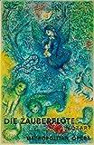 France - Die Zauberflote - Metropolitan Opera - (artist: Chagall c. 1966) - Vintage Advertisement (9x12 Art Print, Wall Decor Travel Poster)