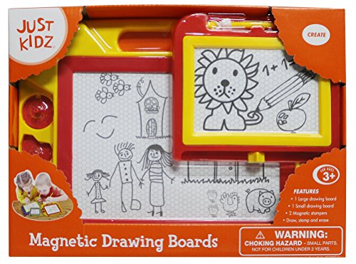 Magnetic Drawing Boards (Colors May Vary) by Just Kidz