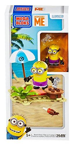 Mega Bloks Despicable Me Beach Party Set (Minions Party Ideas)