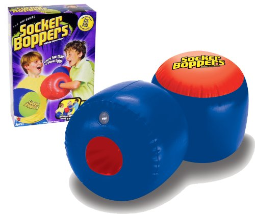 Socker Boppers Inflatable Boxing Pillows - One Pair Boppers