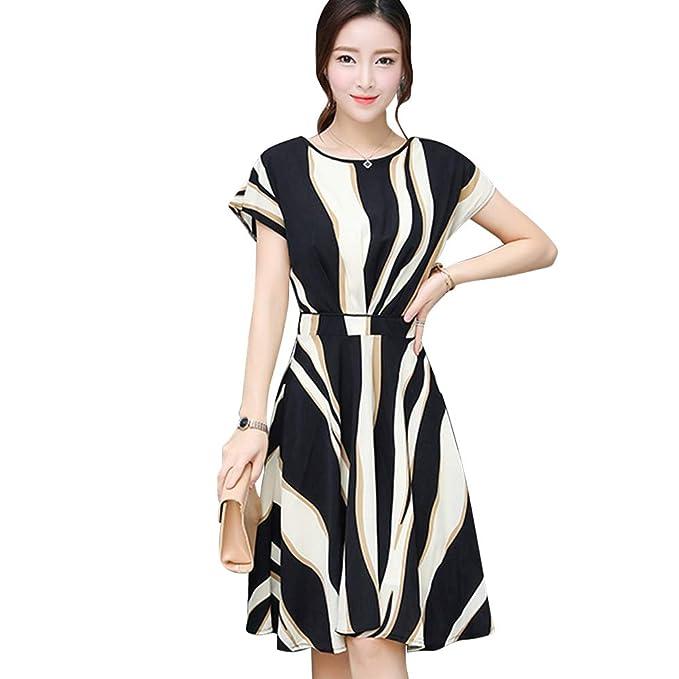 Amazon.com 2019 Casual Midi Dresses, Women A ,Line Loose