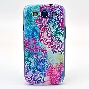 YULIN Teléfono Móvil Samsung - Cobertor Posterior - Dibujos Animados/Diseño Especial/Nombre de Estilo Marca - para Samsung S3 I9300 ( Multi-color , Plástico