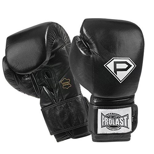 PROLAST Luxury Leather Boxing Training Gloves (black, - Luxury Shop