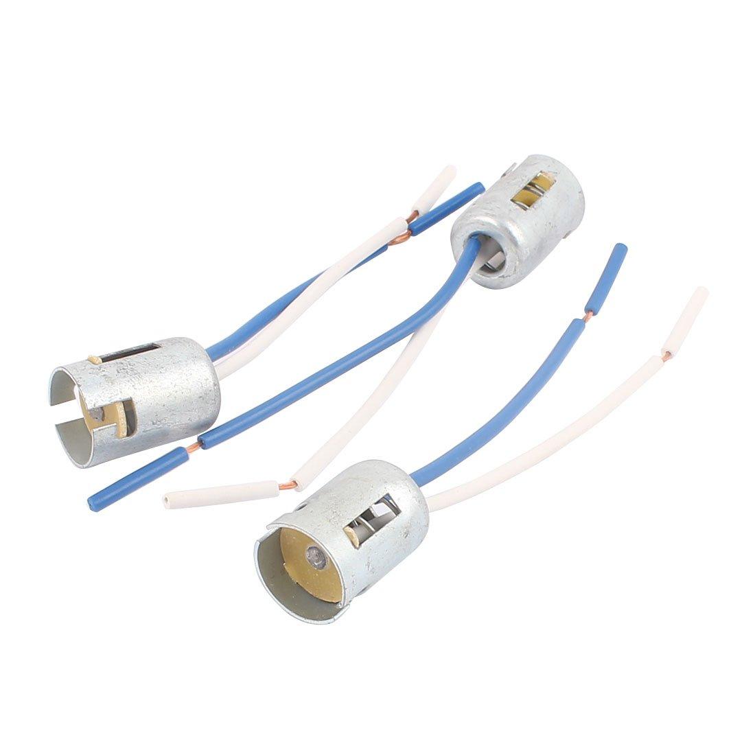 sourcingmap 1156 Base Socket Conector de Luz de Marcha Atr/ás Freno Giro de Coche