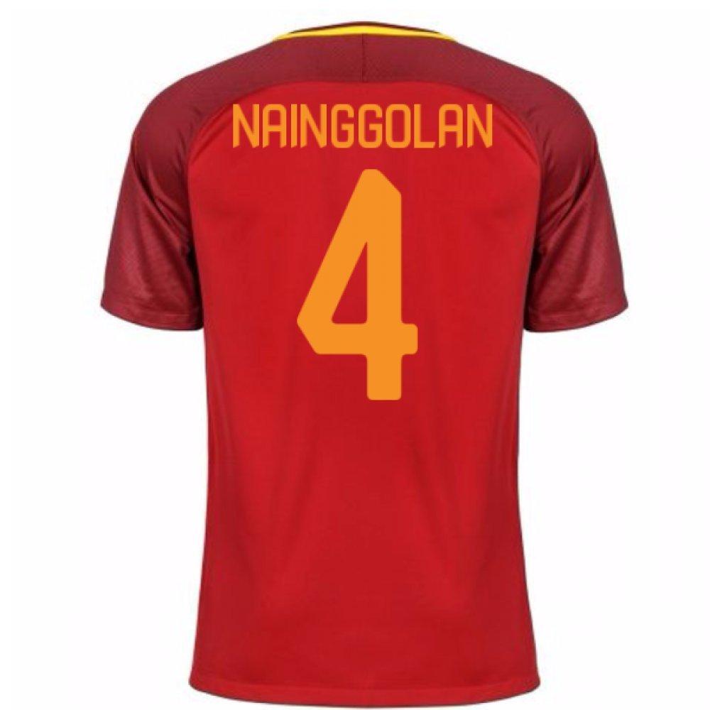 2017-18 Roma Home Shirt (Nainggolan 4) B077PKC5WPBurgundy XXL 50-52\