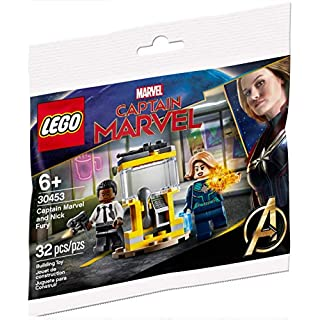 LEGO Marvel Captain Marvel and Nick Fury Limited Edition Polybag (30453)