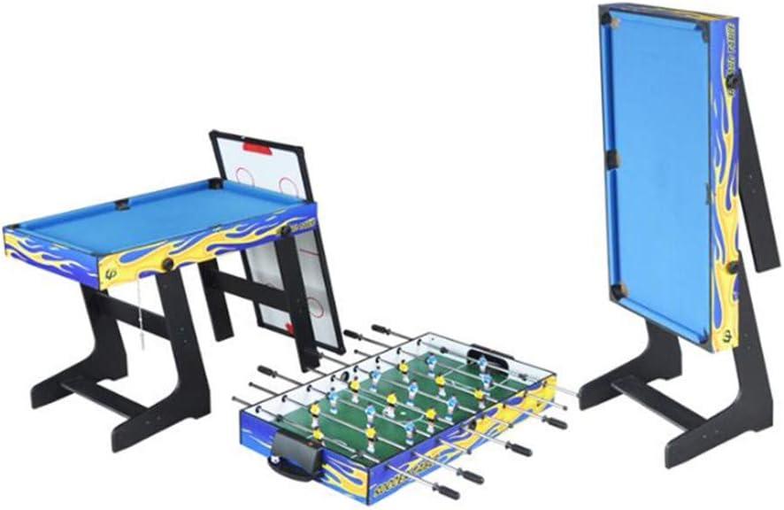 WDXIN Juego de Mesa para niños Competición Juego de Mesa Juego de Juguete para Hombres y Mujeres Padres-Hijo Juego Interactivo de Juegos multijugador 4 en 1,Blue: Amazon.es: Deportes y aire libre