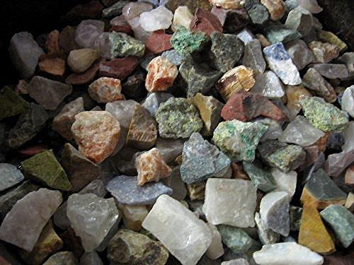 JIC Gem 2 Lb of A 12 Stone Mix From Madagascar Rough Gemstones