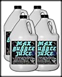 4 Gal - MAX Bubble Juice Fluid - 10x the Bubbles from Standard Machines