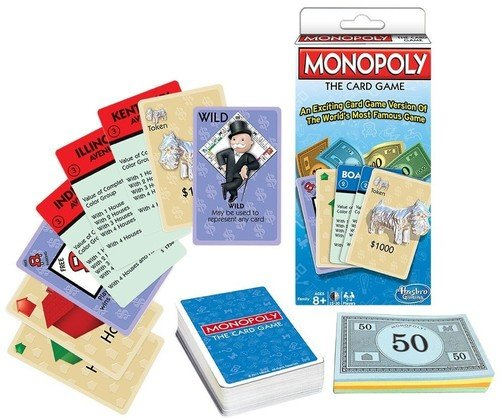 Winning Moves Games Monopoly The Card Game Monopoly & Rummy