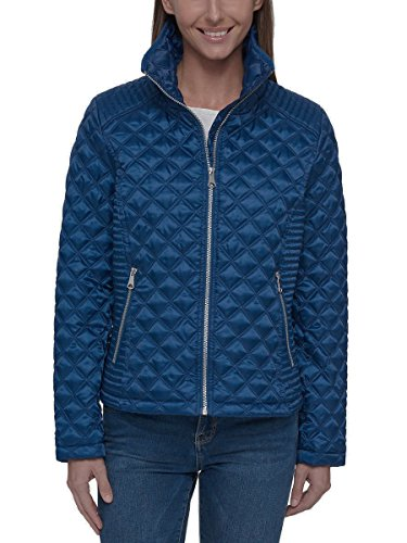 Marc New York Ladies' Quilted Jacket (Blue, - New York Spring Street