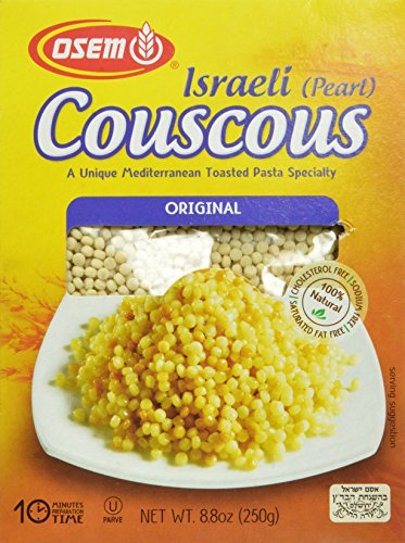 Israeli Toasted Pasta (Osem Israeli Pearl Couscous, Original, 8.8 Ounce (Pack of 12))