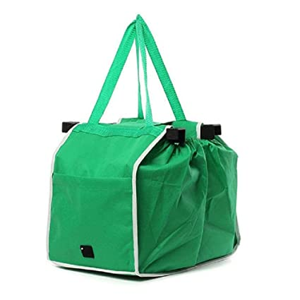 6ff3a0a749e Image Unavailable. Image not available for. Color  Rumfo Reusable Foldable Tote  Bag Grocery Grab Bag Fabric Shopping ...