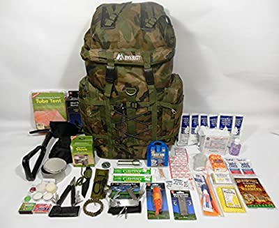 1 Person 3 Day Emergency Survival Kit with 72 Hour Food and Water