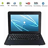 Netbook Laptop Android 4.4 HDMI écr.10 (Wifi-SD-MMC)-Black