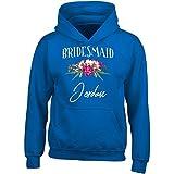 My Family Tee Bridesmaid Jordan Customized Name Bridal Party Gift - Adult Hoodie 4XL Royal