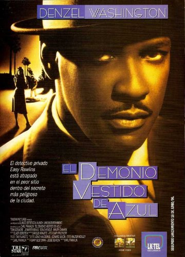 Devil in a Blue Dress Movie Poster (27 x 40 Inches - 69cm x 102cm) (1995) Argentine -(Nick(y) Corello)(Denzel Washington)(Jennifer Beals)(Don Cheadle)(Tom Sizemore)(Maury Chaykin)