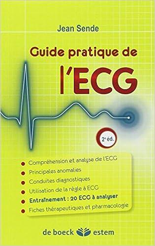 Lire un Guide pratique de l'ECG epub pdf