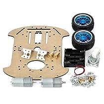 Arduino Compatible Mobile Robot Development Platform ZL-3 Robot Raider Car Kits for Arduino