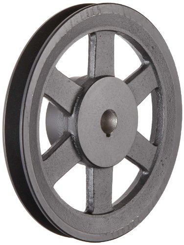 Martin-FHP-Sheave-BS-4L5L-or-B-Belt-Section-1-Groove-Class-30-Gray-Cast-Iron
