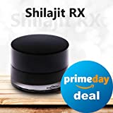 Shilajit RX. 100 Servings Jar. Natural Raw Shilajit Resin: Premium Mineral Supplement Paste – Organic Resin Shilajit Extract