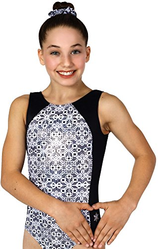 Snowflake Designs Leotards - Snowflake Designs Bizarre Gymnastics or Dance Leotard (Adult Extra Small)