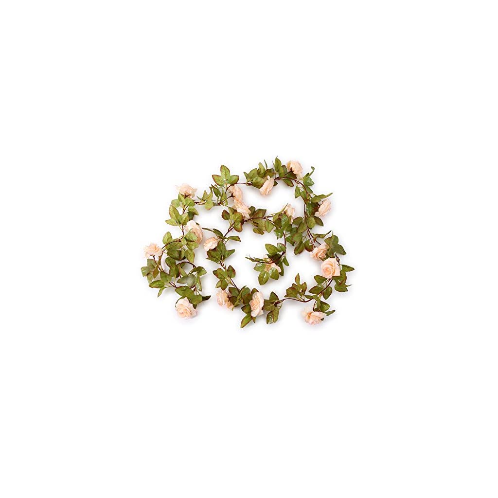 Greentime-2-Pack-17-Heads-72-Ftpc-Artificial-Silk-Fake-Flowers-Autumn-Rose-Vine-Hanging-Plants-Wedding-Home-Party-Arch-Thanksgiving-Decor