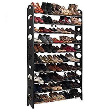 Grand Meuble Chaussure 100 Paires.Probache Etagere Range Chaussures Modulable 50 Paires