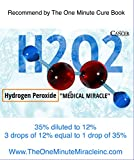 12% Hydrogen Peroxide Food Grade - 2 Bottles and