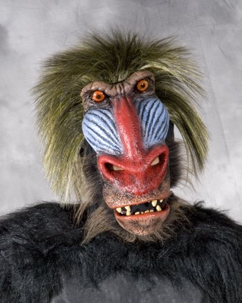 (Zagone Super Action Chimp Mask, Primate)