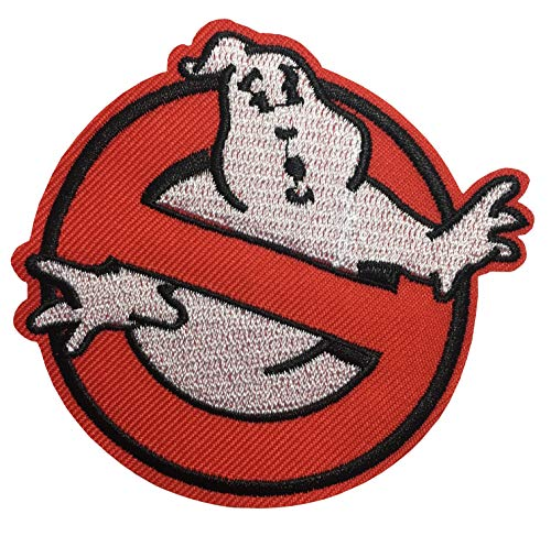 Ghostbusters No Ghost Movie Comics Cartoon Logo Kid Baby Jacket T shirt Patch Sew Iron on Embroidered Symbol Badge Cloth Sign Costume By Prinya Shop -