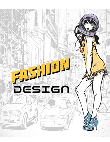 Fashion Design 310 figure templates with 3 different pose (Space girl) (Volume 1) [Murphy, Mike] (Tapa Blanda)