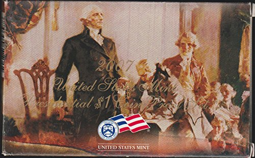 2007 United States Mint Presidential $1 Coin Proof Set Proof