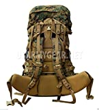 New Usmc Gen 2 Marpat Tan Woodland Ilbe Main Pack with Lid Belt Complete Arcyteryx
