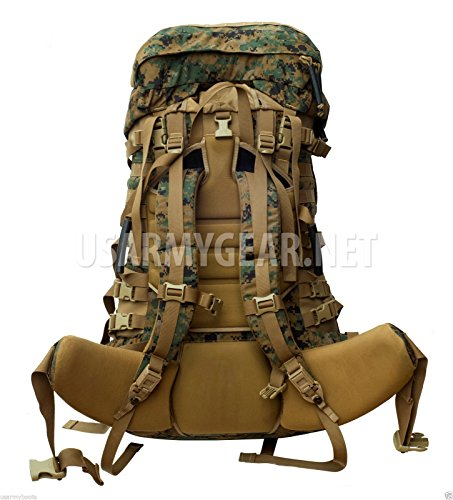 New Usmc Gen 2 Marpat Tan Woodland Ilbe Main Pack with Lid Belt Complete Arcyteryx by Propper Industries